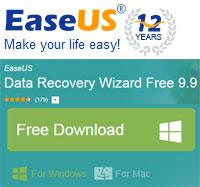 EaseUS ฟรีโปรแกรมกู้ไฟล์