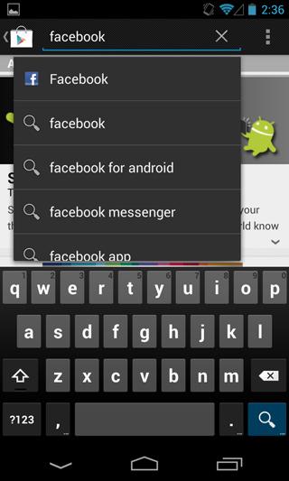 การใช้ Facebook บนโทรศัพท์มือถือและ Tablet