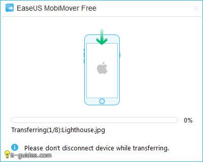 MobiMover โอนย้ายข้อมูลจากคอมพิวเตอร์ ไปยัง iPhone/iPad