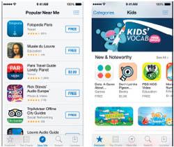 มีอะไรใหม่ใน iOS 7 - App Store