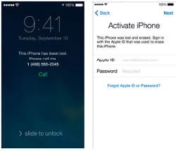 มีอะไรใหม่ใน iOS 7 - Find My iPhone