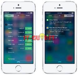 มีอะไรใหม่ใน iOS 7 - Notification Center