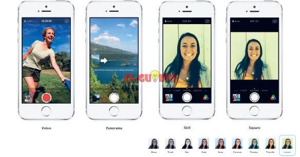 มีอะไรใหม่ใน iOS 7 - Camera