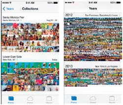 มีอะไรใหม่ใน iOS 7 - Photos