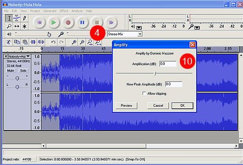 Audacity Add more sound