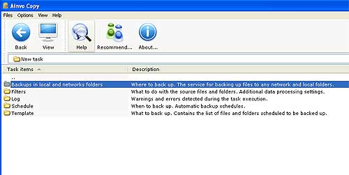 Ainvo Copy Backup Tool