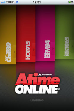Atime Online for iPhone