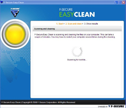Easy Clean Virus Cleaner