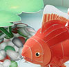 Paper Craft Gold Fish