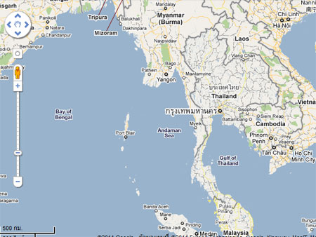 Google Map Thailand