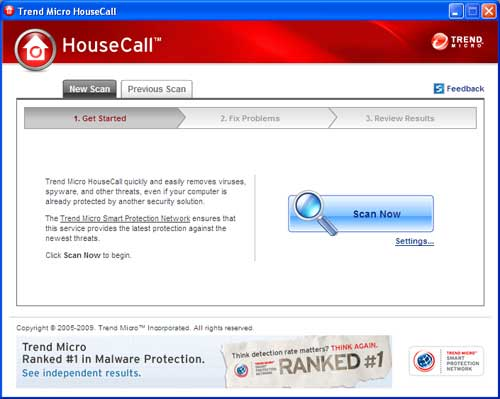 HouseCall Trend Micro