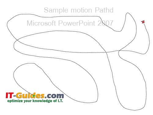 Motion Paths PowerPoint