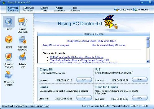 Rising PC Doctor