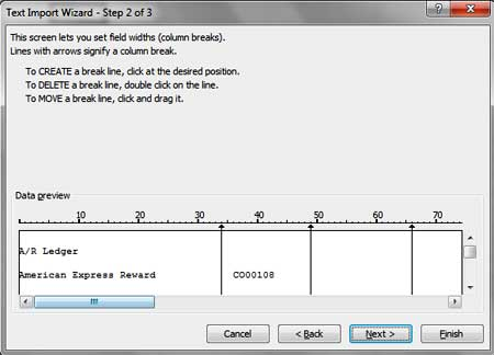 Text Import Wizard Excel
