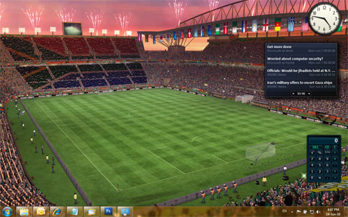 EA SPORTS 2010 FIFA World Cup Windows 7 Theme