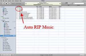 Auto RIP Audio CD