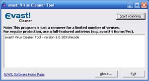 avast! virus cleaner