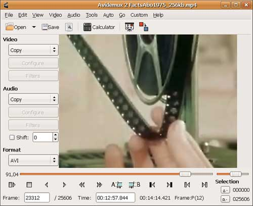 Avidemux Video Editor