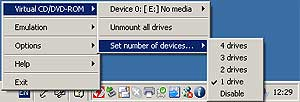 Daemons Tools Virtual Drive