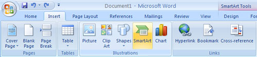 SmartArt Toolbar