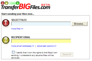 transfer big files service