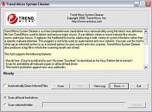 Virus System Cleaner